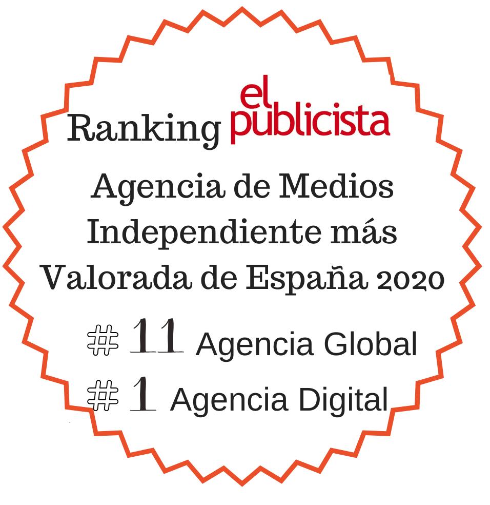 Mejor Agencia de Medios Independiente 2020